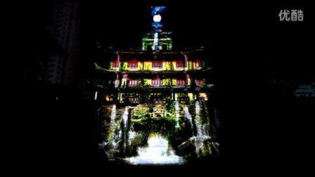 宁波鼓楼3D灯光秀首映 | UFO媒体实验室出品