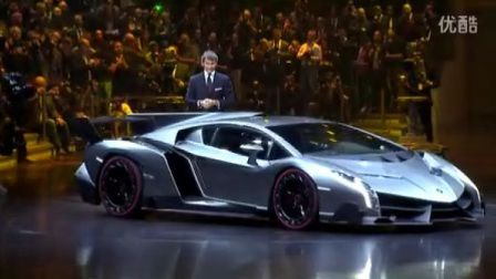 兰博基尼50周年纪念版车型Veneno正式亮相日内瓦车展