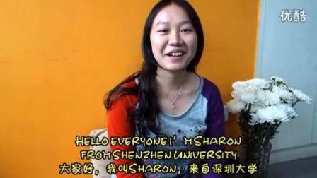 分享:霎哈嘉瑜伽让我感到非常平衡和喜悦,深圳大学Sharon