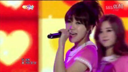 [Precious Eunji]Apink -Hush 歌谣大战121229