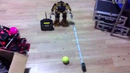 人形机器人投球训练1