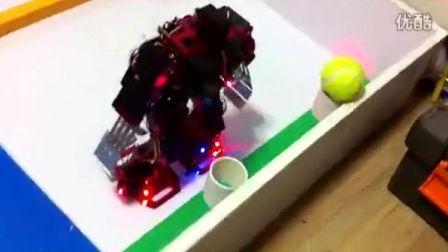 机器人自动连续控球