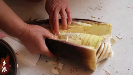 竹笋怎么做好吃, 农村妈妈教你做, 农村爸爸吃得津津有味, 下酒菜