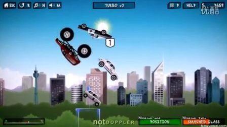 《狂暴飞车》(7.8分)(小游戏)Renegade Racing
