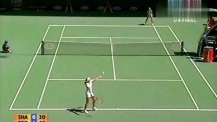 2006澳大利亚网球公开赛女单QF 莎拉波娃VS佩特洛娃 (自制HL)