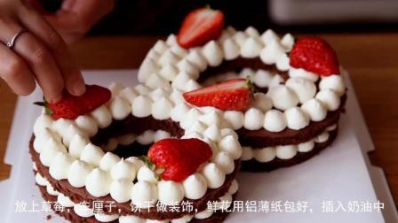 【数字蛋糕】手残小白也可以做好的又美又作蛋糕