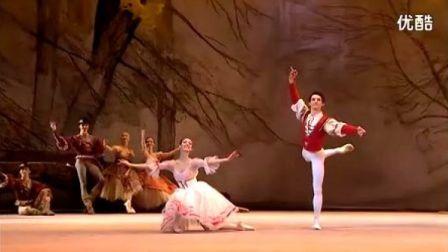 古典芭蕾-Giselle-吉賽爾-農民雙人舞-Alizade-Bolotin-Bolshoi