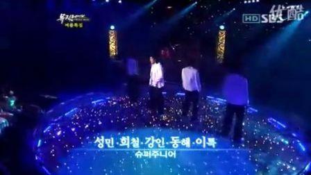 060818 Nan Namjada on SBS Music Wave 我是男人