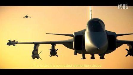 鹰狮战斗机2013年新宣传片:7分钟完整剧情Su35超级侧卫又当靶子了