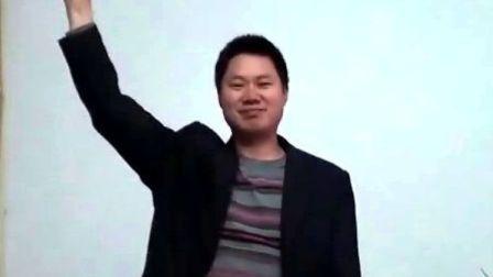 【拍客】山区教师为雅安加油祈福