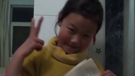 【拍客】山村小学女孩为雅安加油