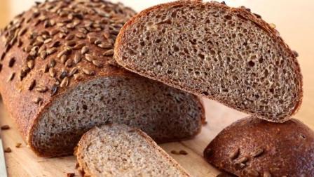 黑麦坚果欧包(黑麦面包)波兰, 做法步骤, 比普通面包更具营养!