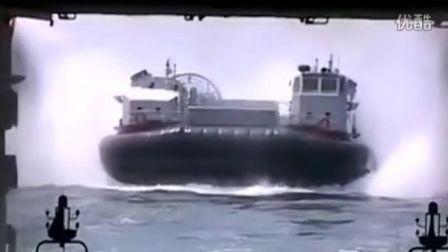 中国版LCAC气垫船可运载坦克直接越过水雷区