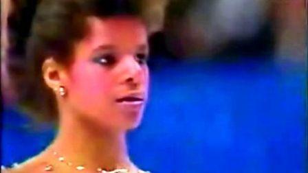 Debi Thomas 1988 Olympics SP