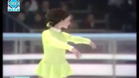 Peggy Fleming - 1968 Olympics - FS