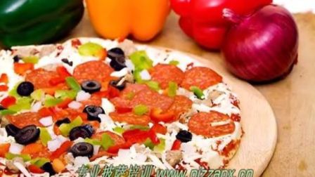 比萨制作方法 披萨培训教材课 比萨制作 披萨制作