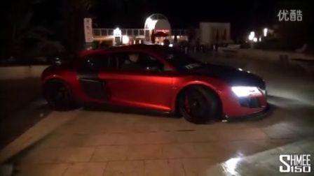 摩纳哥实拍ATB版奥迪R8 GTR