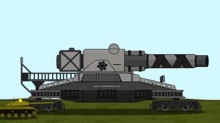 坦克世界搞笑动漫: 古斯塔夫与卡尔臼啥时候结婚的? 否则他是谁?