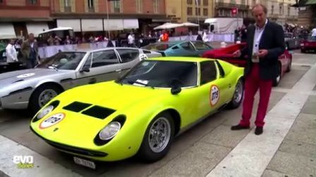 Lamborghini 50th tour V12 timeline - evo diaries