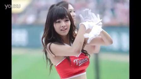 韩国棒球美女宝贝啦啦队员姜允怡美图集锦