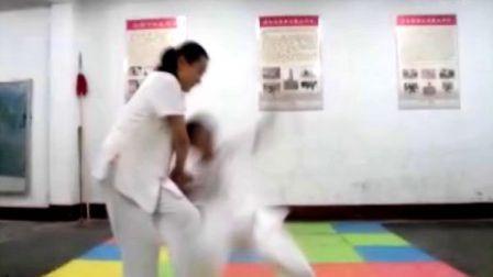 孩子们的精彩擒摔训练,国术的希望