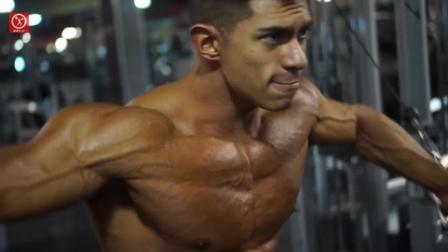 墨西哥肌肉模特Fernando Valdez, 光这身肌肉就已经无敌