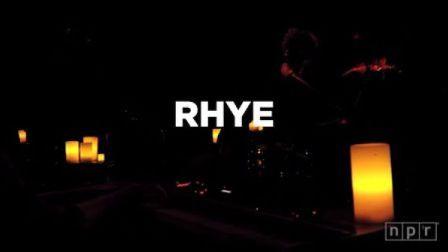 Rhye - NPR MUSIC LIVE