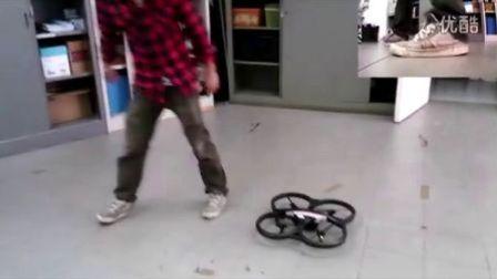 【四轴飞行器】基于ROS、OpenCV以及TLD的AR.Drone开发(多物体识别)
