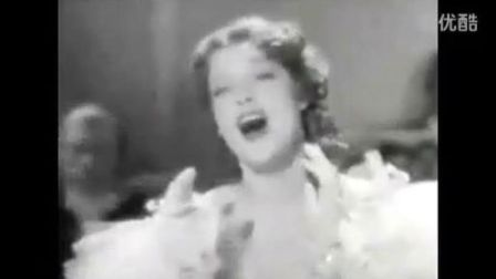 Jeanette MacDonald sings 卡迪斯城的姑娘 与 军队进行曲