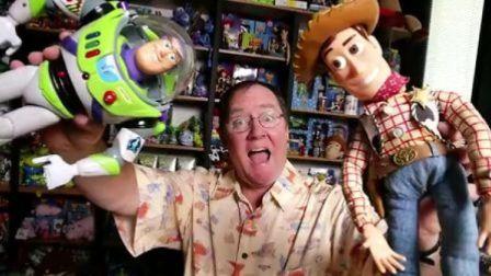 【纪录片】皮克斯动画工作室的创始人之一约翰·拉塞特的一天