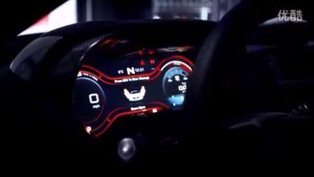 混合动力超级跑车——捷豹C-X75