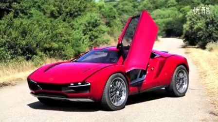 CAR and DRIVER试驾Italdesign Giugiaro Parcour概念车