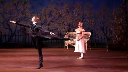 芭蕾舞明星Evgenia Obraztsova 排练奥涅金 莫斯科大剧院