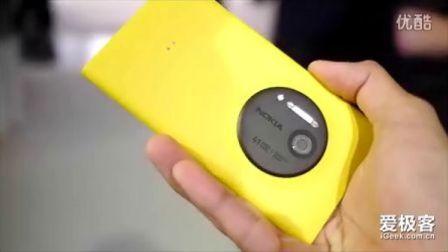 4100万像素神机 诺基亚Lumia1020上手玩