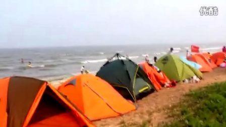 三人行经典行程:盛夏日照风情海边浪漫户外の露营游泳赶海