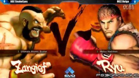 【EVO2013 Day1】《街霸4AE》梅原大吾 (隆) vs SnakeEyes (老桑)