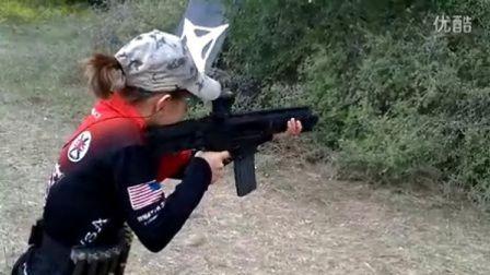 【时光小可爱】无法不爱!13岁萝莉玩枪酷毙了