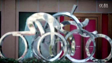 中国好声音第2季汪峰考核 中国好单车 E4E塑料个性定制自行车