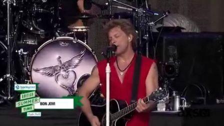 Bon Jovi 2013英国夏季音乐节海德公园现场