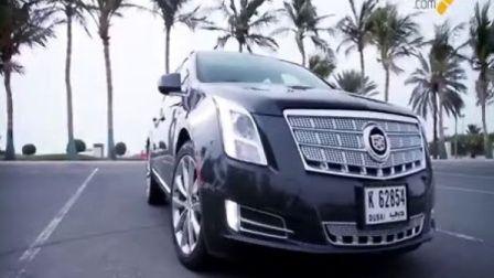 中东汽车媒体《Arab Motors TV》试驾凯迪拉克XTS