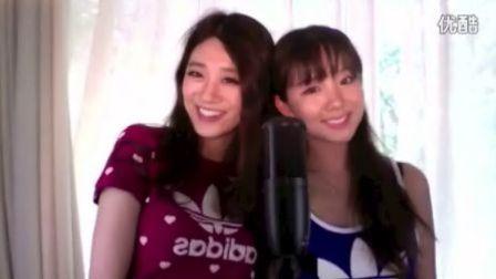 闺密姐妹花演唱好听原创歌曲<晴天>。。盛夏一抹凉凉的甘甜~