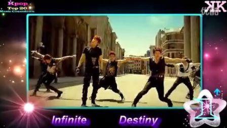 2013 韩国音乐排行榜Kpop 第42期总结 Infinite Beast B.A.P Ailee
