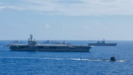 美军也尝到了中国的厉害 该舰再立新功 直闯美日印军演