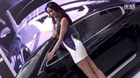 2013上海车展-东风悦达起亚车模清晰淡雅