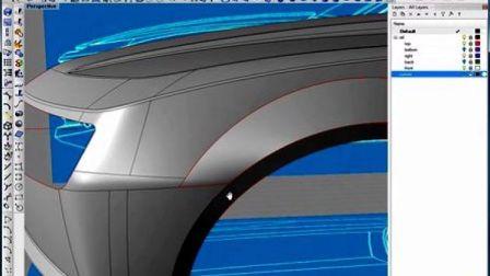 犀牛汽车教程 Rhino教程 雪佛兰汽车建模教程018