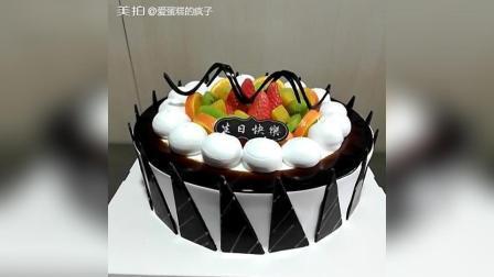 美拍视频: 生日蛋糕制作教程#美食#
