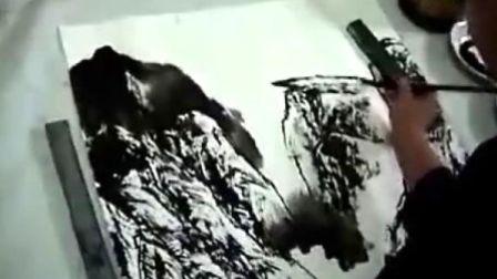 于冬现代彩墨山水画技法
