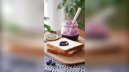 手工蓝莓酱, 健康美味做法还简单