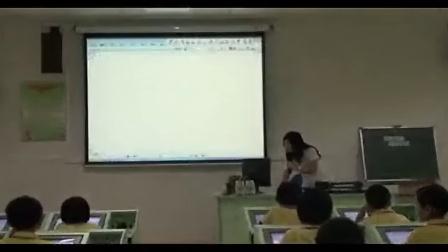 小学四年级信息技术优质课展示《校园电子板报制作》