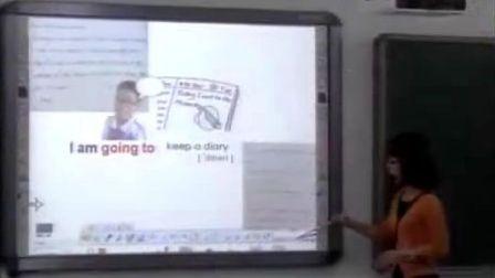 小学五年级英语《Things I m going to do》教学视频深港版宝安区实验学校钟小玲